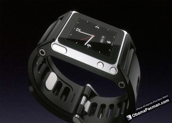 iPod nano watch demoed on iPhone 4S Apple Keynote