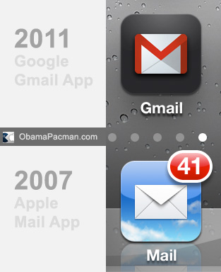 Google Mail App Vs Iphone Mail