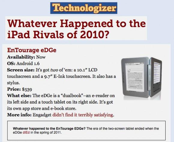 32 Failed 2010 tablets
