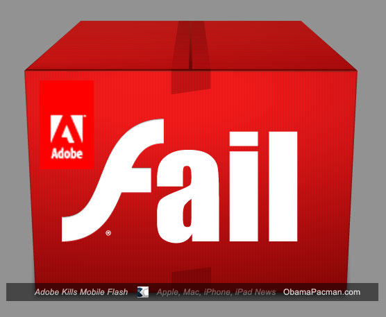 Adobe Flash Fail