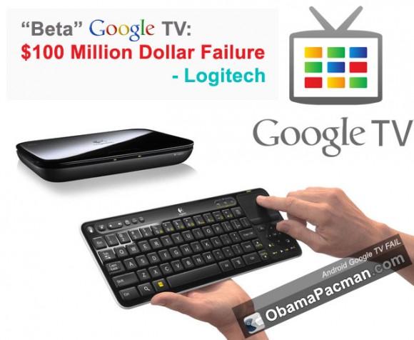 Android Google TV Fail