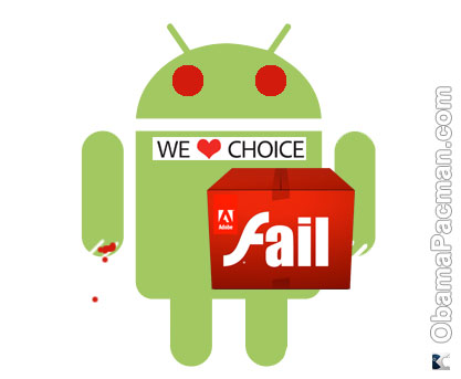 Android Zombie Flash choice