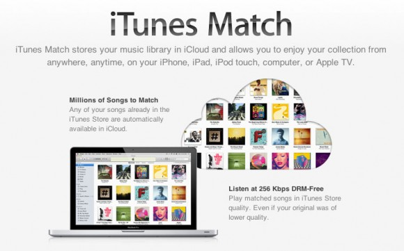 Apple iTunes match, cloud music