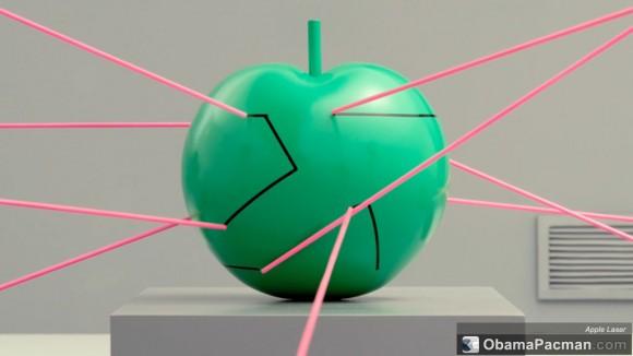 Apple laser
