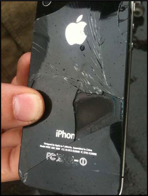 Australia iPhone Explosion