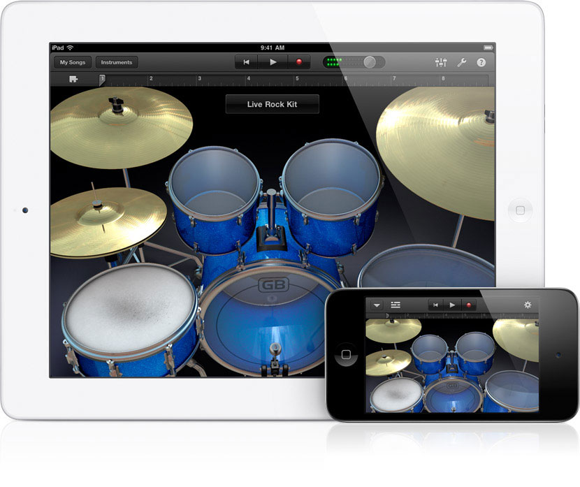 apple upgrades ipad garageband with iphone  u0026 ipod touch