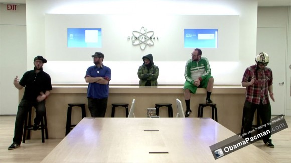 Genius Bar, Apple Store Employee Training Rap Musical