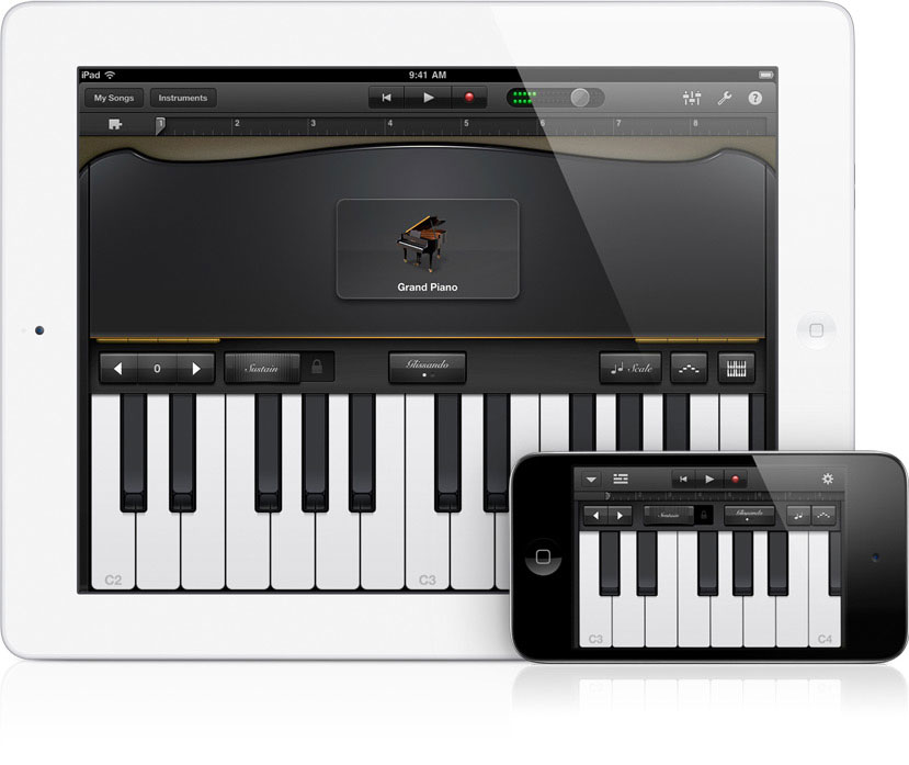 Grand Piano Garageband Ipad Iphone Obama Pacman