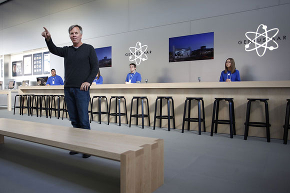 Ron Johnson, Apple Store Retail, Genius Bar