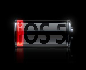 iOS 5 low battery