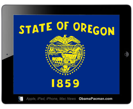 iPad 2 Oregon voting