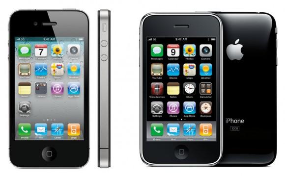 iPhone 4S 3GS Apple smartphone