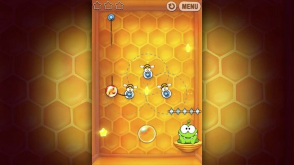 Cut the Rope buzz box bees