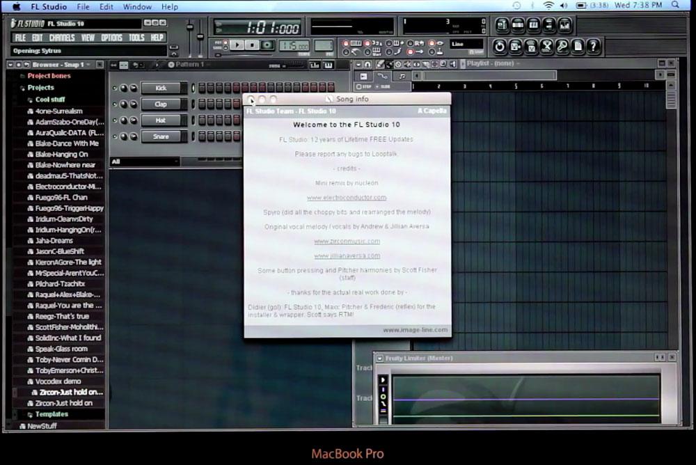 FL Studio Mac OS X info | Obama Pacman