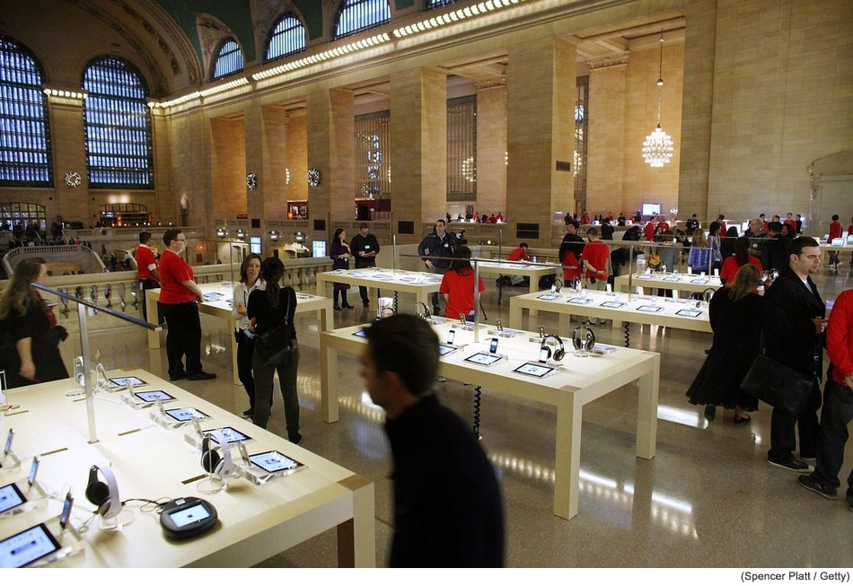 Can't Wait Until Friday? Here's The Inside Of The New Grand Central Apple Store [Photos]
