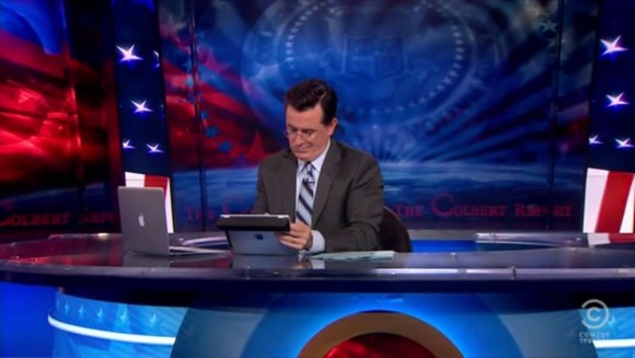 Mac user Stephen Colbert Kindle Fire great