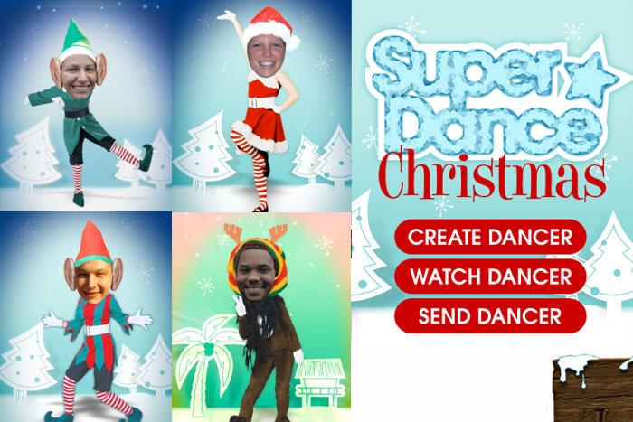 Super Dance Elf Christmas iPhone app