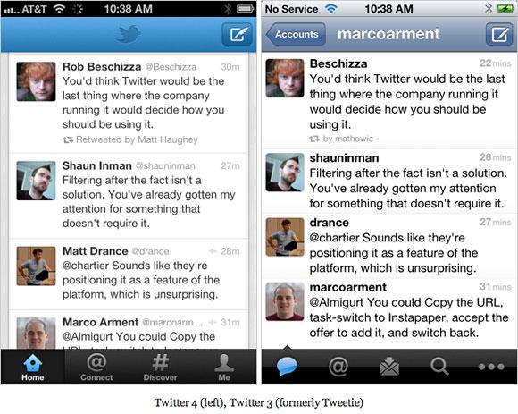 Twitter 4 iPhone App