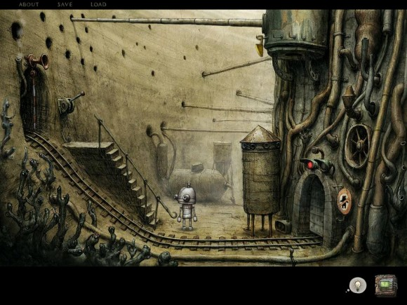 Machinarium iPad 2 level