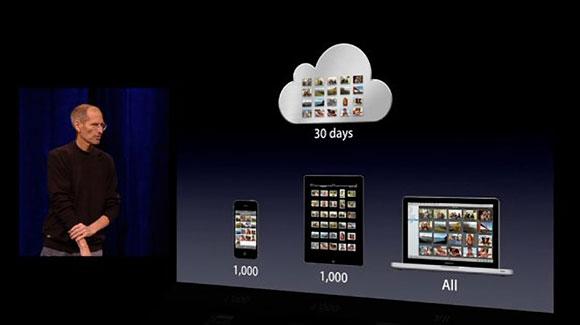 Steve Jobs iCloud Photo Stream 2011