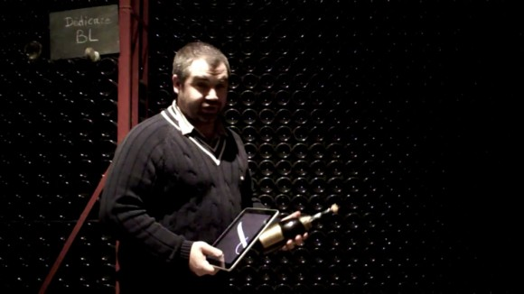 iPad Champagne Sabrage, Benoit Tarlant