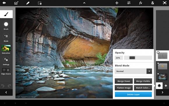Adobe Photoshop Touch iPad 2 App