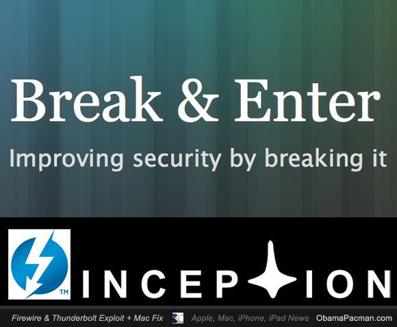 Break n Enter Inception Security Tool