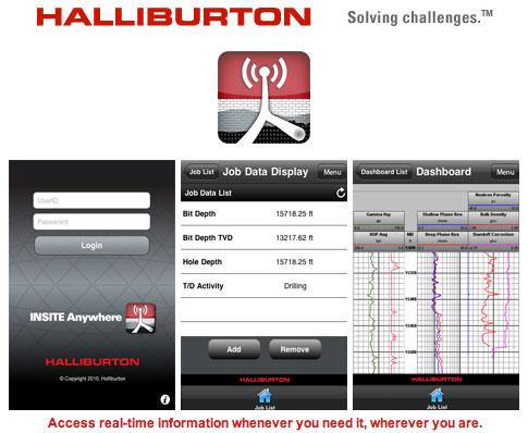 Halliburton iPhone App