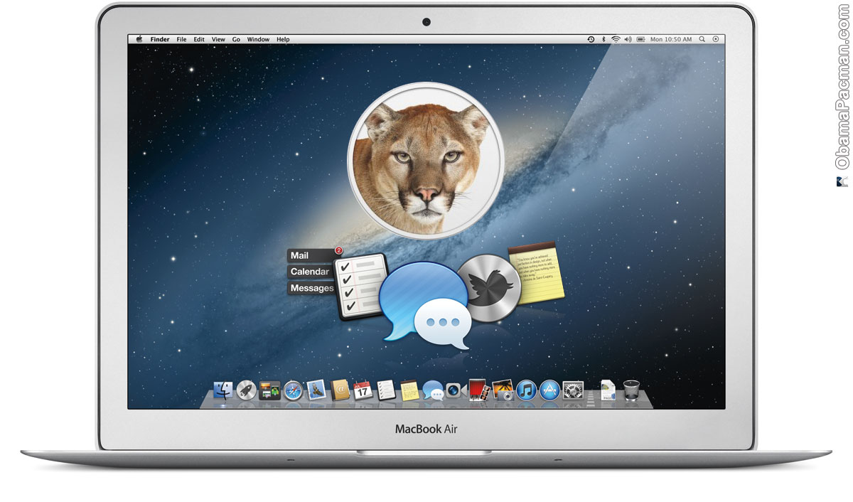 mac os x 10.8 lion_Apple Unveils iOS Integrated 10.8 Mountain Lion, Summer Release | Obama Pacman