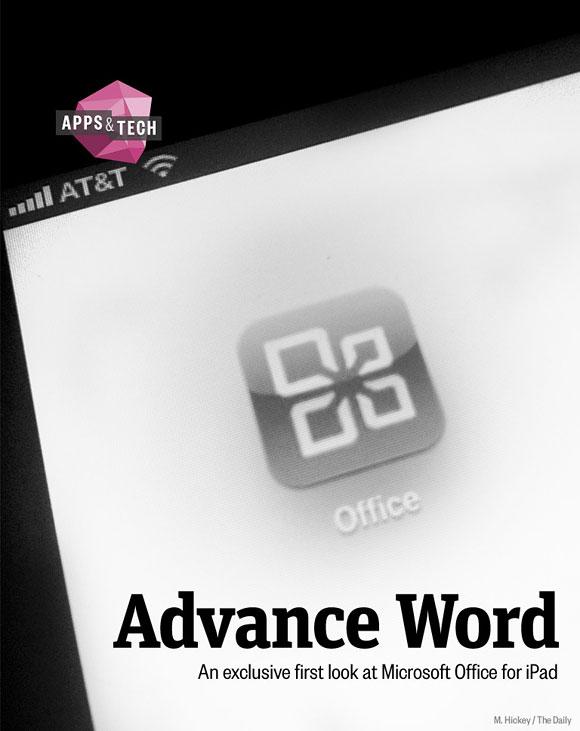 Microsoft Office iPad App icon