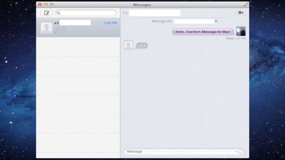 Mountain Lion Messages App video
