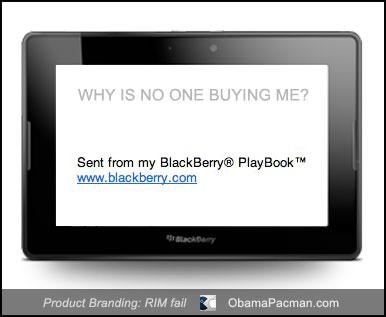RIM product branding fail