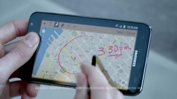 Samsung 2012 Stylus Phone