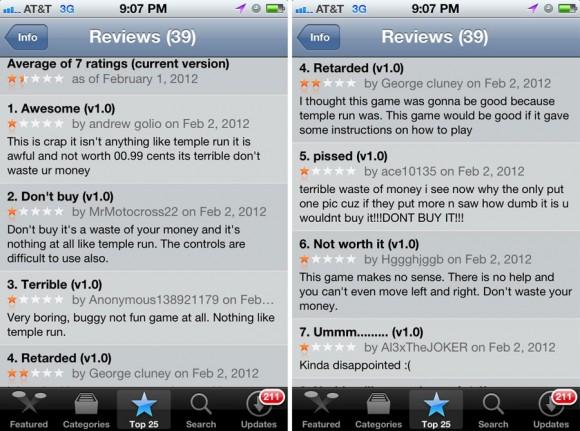 Temple Jump App Store Reviews