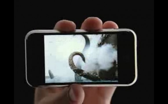 iPhone ad - Calamari