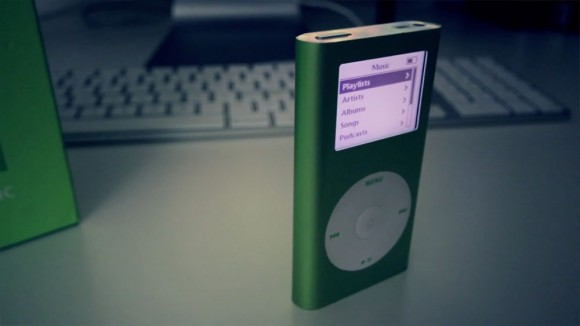 iPod mini green