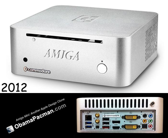 Amiga Mini Another Apple Design Clone Obama Pacman
