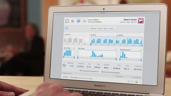 Web analytics Square Register iPad POS