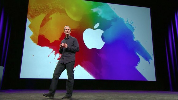 Apple New iPad Media Event Tim Cook