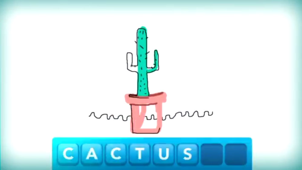Cactus Draw Something Obama Pacman