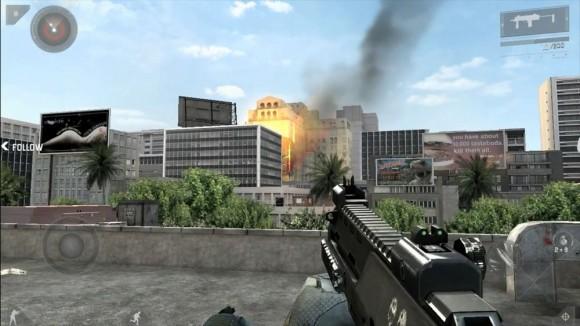 Modern Combat 3, Fallen Nation iPad iPhone FPS