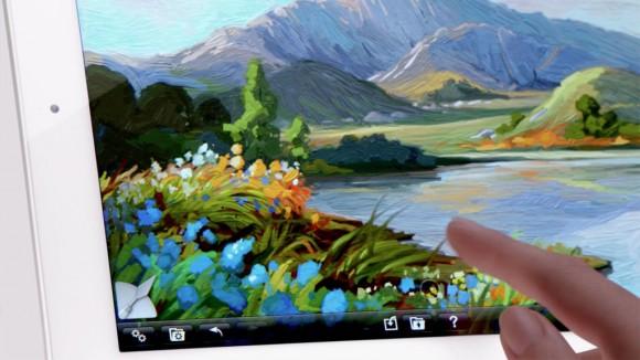 Painting Apple new iPad 3