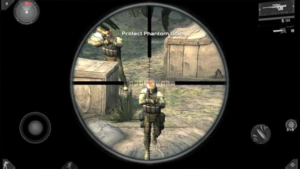 Sniping Modern Combat 3, Fallen Nation | Obama Pacman