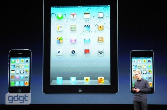 Tim Cook Apple iPad 3 Keynote Post-PC