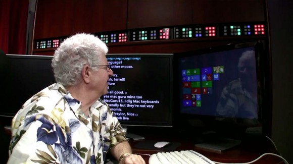 how real people will use Windows 8, Chris Pirillo dad