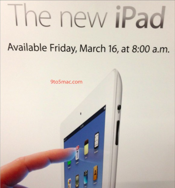 iPad 3 launch time 8am March 16 2012