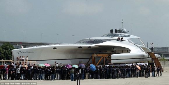Adastra iPad Super Yacht