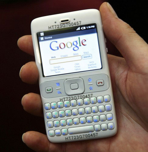 Android prototype before iPhone