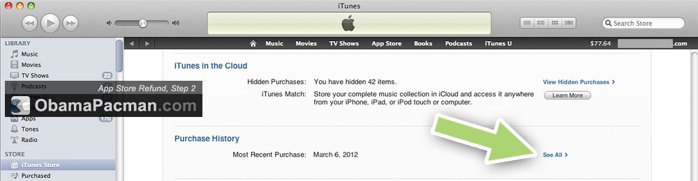 Itunes Purchase History