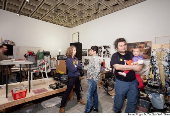 Dawn Kasper Whitney Museum Biennial Installation 2012